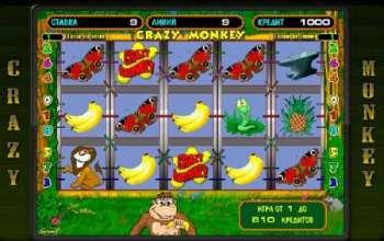 Игровой автомат «Сумасшедшая мартышка»